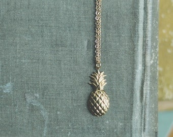 sweet pineapple necklace.