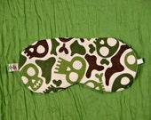 Camouflage, Sleep Mask, Skulls