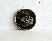 Hedgehog Coin for Luck Coin Jewelry Making Scrapbooking Good Luck Charm Craft Supply