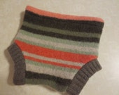 Recycled Wool Sweater Soaker Cloth Diaper Cover Small