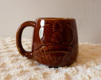 Vintage Dega Hawaii Tiki Coffee Mug Personalized MARIE