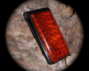 SNAKEWOOD Money Clip - Stainless Steel