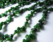 Russian Chrome Diopside Raw Nugget Chip Beads 5mm - 15mm