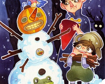 Shy & Coey: Over the Garden Wall (Seasonal Greeting Cards)