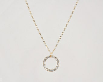 Sparkle Necklace - Circle