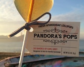 APHRODISIAC LOLLIPOPS (50 pops): Delicious romantic gift for date, wedding or party. Organic, herbal. Spice up your love life.