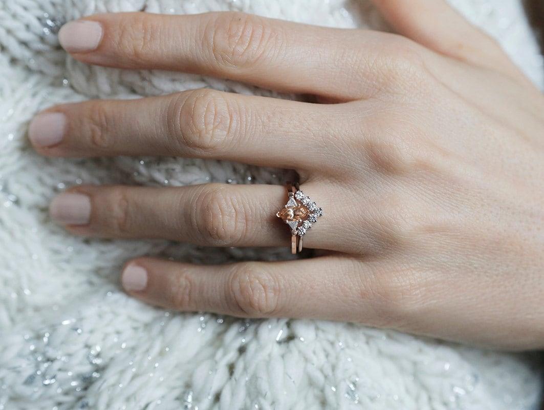 Wedding Ring Band Sets 56 Superb Diamond marquise engagement ring