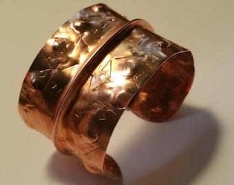 Decorative Copper Cuff #2