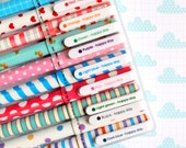 Cute Color Gel Pens - Set of 10, Stationery Set for Drawing, Writing, Scrapbooking, Card-making
