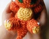 Baby Charmander Pokemon Chibi Crochet Amigurumi