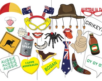 Australia day etsy for Australia day decoration