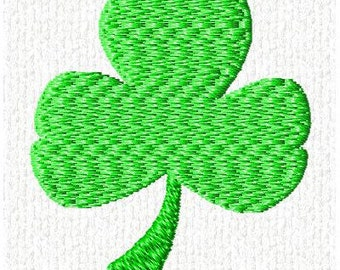 Machine Embroidery St. Patrick Day Shamrock Design