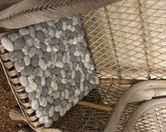 Cushion Felt Stones Pebbles By Flussdesign On Etsy