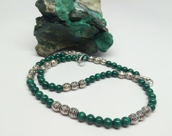 Malachite Strand Necklace
