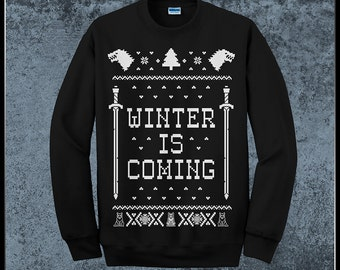 Winter Is Coming Game Of Thrones Ugly Christmas Unisex Sweater Jumper