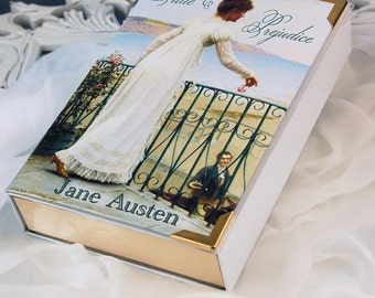 "Book Clutch ""Pride & Prejudice"" (customizable)"