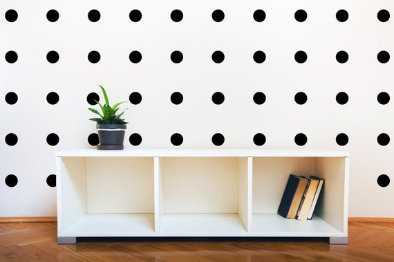 Peel And Stick Polka Dot Wall Decals Long Life Apartment Safe