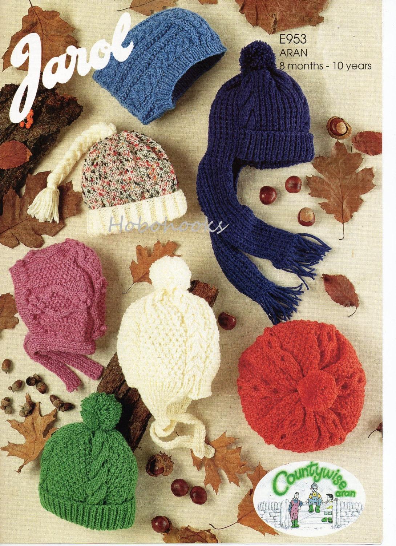 Baby Knitting Pattern Baby Hats Childrens Hats Knitting