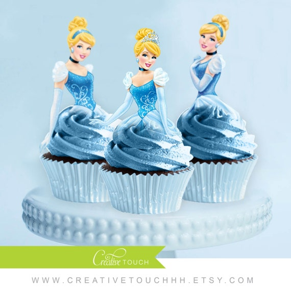 ... Cinderella Birthday, Cinderella Party, Cinderella Cake Topper