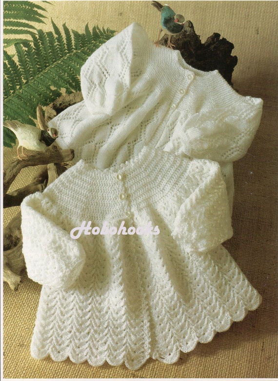 Crochet Baby Coat Pattern : baby matinee coat crochet pattern matinee jacket knitting