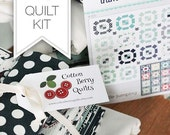 Quilt Kit - The Boat house Fabric Collection - Puddle Jumping