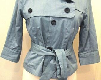 Vertigo Cropped Trench Coat
