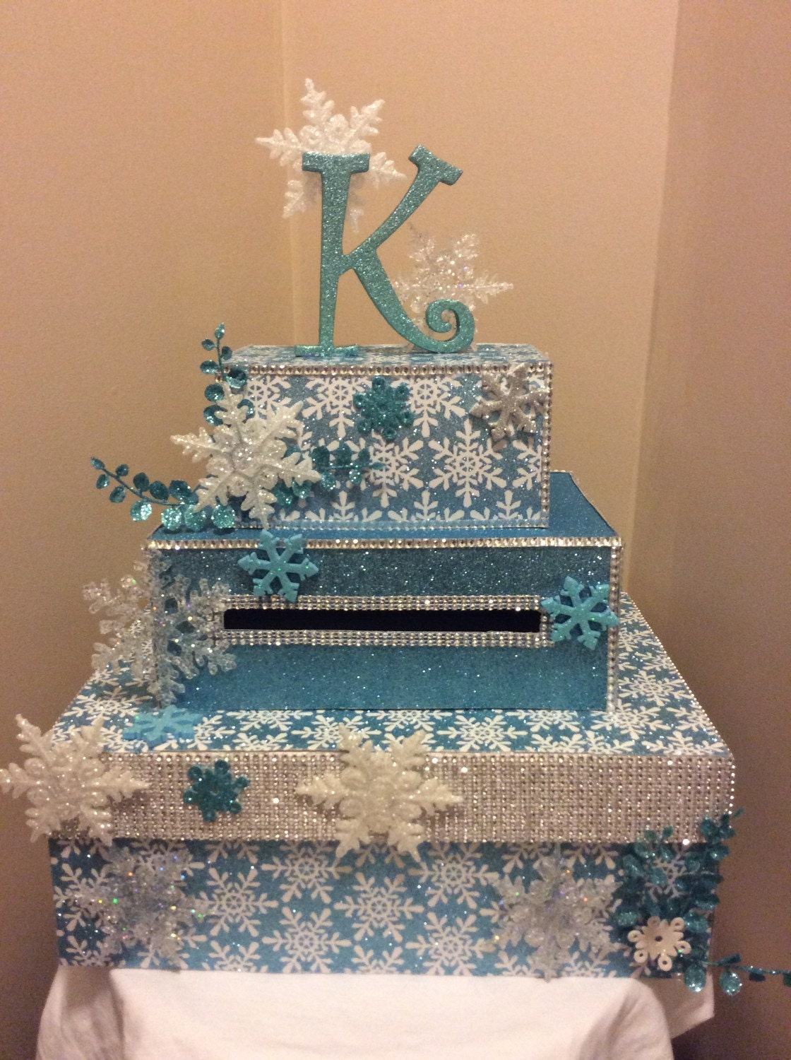 Winter Themed Quinceanera Cakes