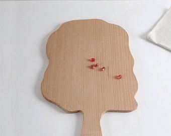 Wooden board beech tree