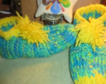 Hand made slipper socks