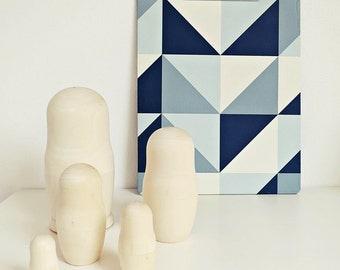 DIY matryoshka set, Babushka, matryoshka, wooden dolls, gift, decoration, gift idea, storage, box, gift packaging