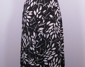 Vintage 1970s, JACK HARTLEY inc. Long Empire Waist Hostess/Swim Sun Dress Size S- M, Petite?