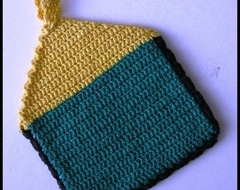 Crocheted Pot Holder (#5)
