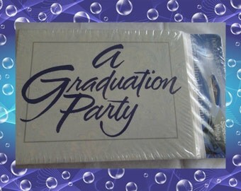 Vintage American Greetings A Graduation Party Invitations