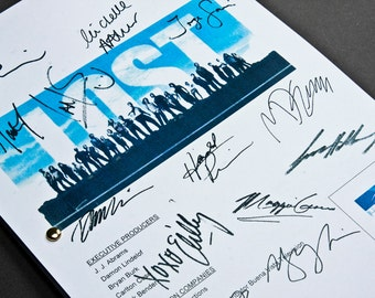 Lost TV Script with Signatures/Autographs Reprint