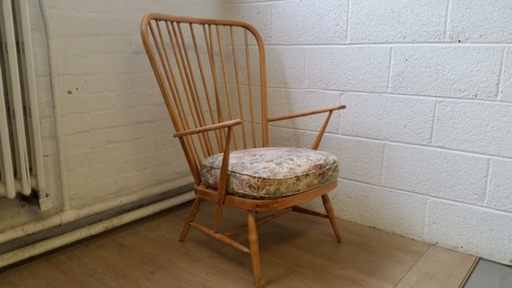 Beautiful Vintage Ercol Windsor Easy Chair No 478 Excellent : il570xN726785791b4rm from etsy.com size 570 x 321 jpeg 38kB