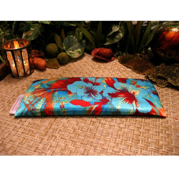 Herbal Scented Animal Eye Pillows : Organic Lavender Eye Pillow. Herbal Remedies for Sinus