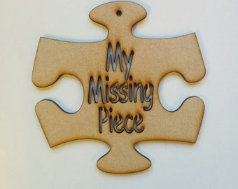 My missing piece jigsaw piece