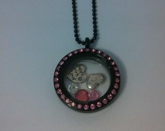 Memory locket necklace
