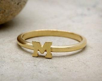 M Letter In Ring Letter m ring |...