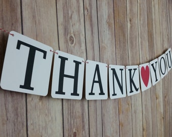 Petite Thank You Banner, Petite Wedding Thank You, Petite Thank You Photo Prop,Mini Wedding Thank You