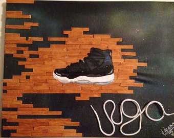 Space Jams sneaker art