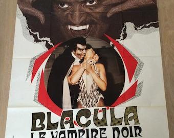 Shows Cinema 120 x 160 cm black vampire Blacula