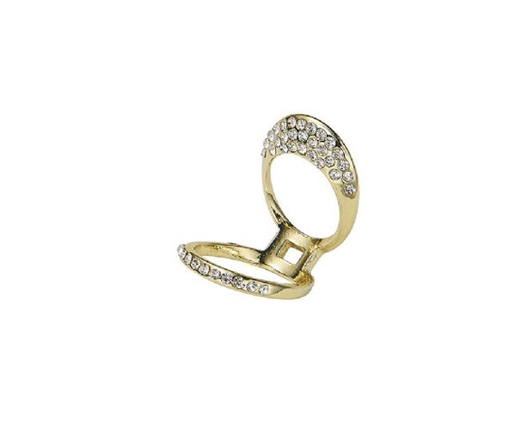 items similar to gold middle finger ring on etsy