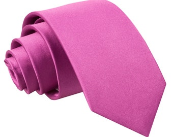Satin Mulberry Boy's Tie