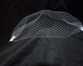 Russian Netting Full Face Veil Mask