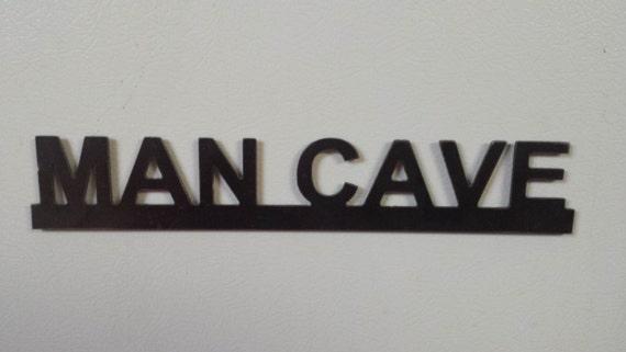 CNC Plasma Cut Man Cave Metal Art With Magnets / Groomsman / Wedding gift