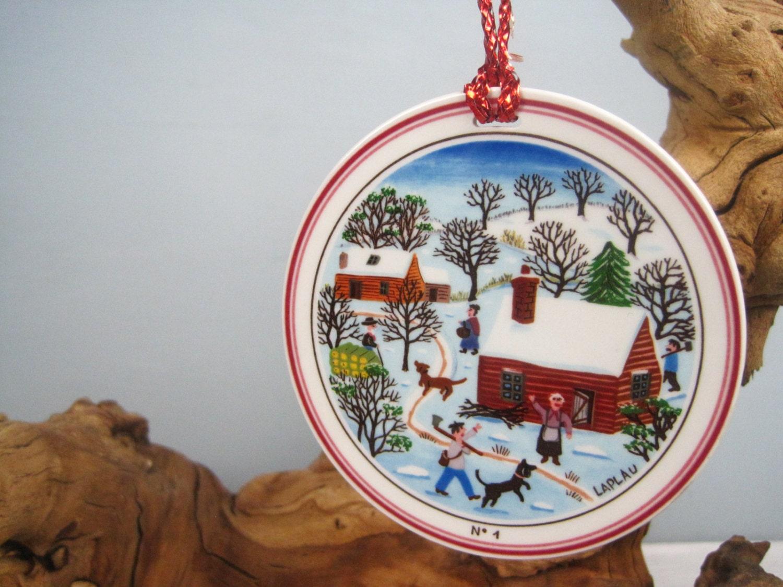 Gerard laplau villeroy boch naif porcelain christmas for Villeroy boch christmas