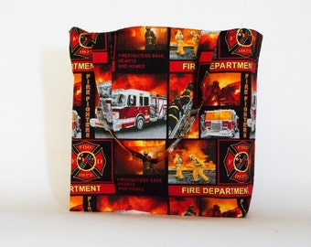 Fire Fighters Tote Bag