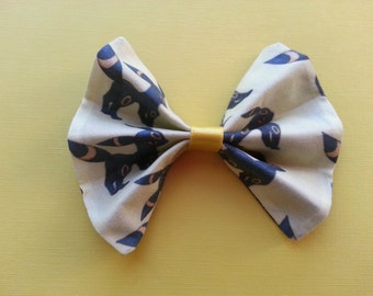 Pokemon Umbeon Cotton Fabric Hair Bow