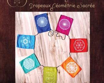 Sacred Geometry Flags - Drapeaux géométrie sacrée